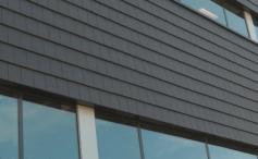 Использование керамической черепицы для фасадных решений