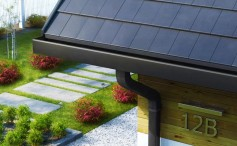 Galeco STAL 2 — инновационная водосточная система квадратного сечения!