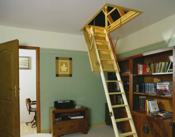 Чердачные лестницы — лестницы-невидимки!