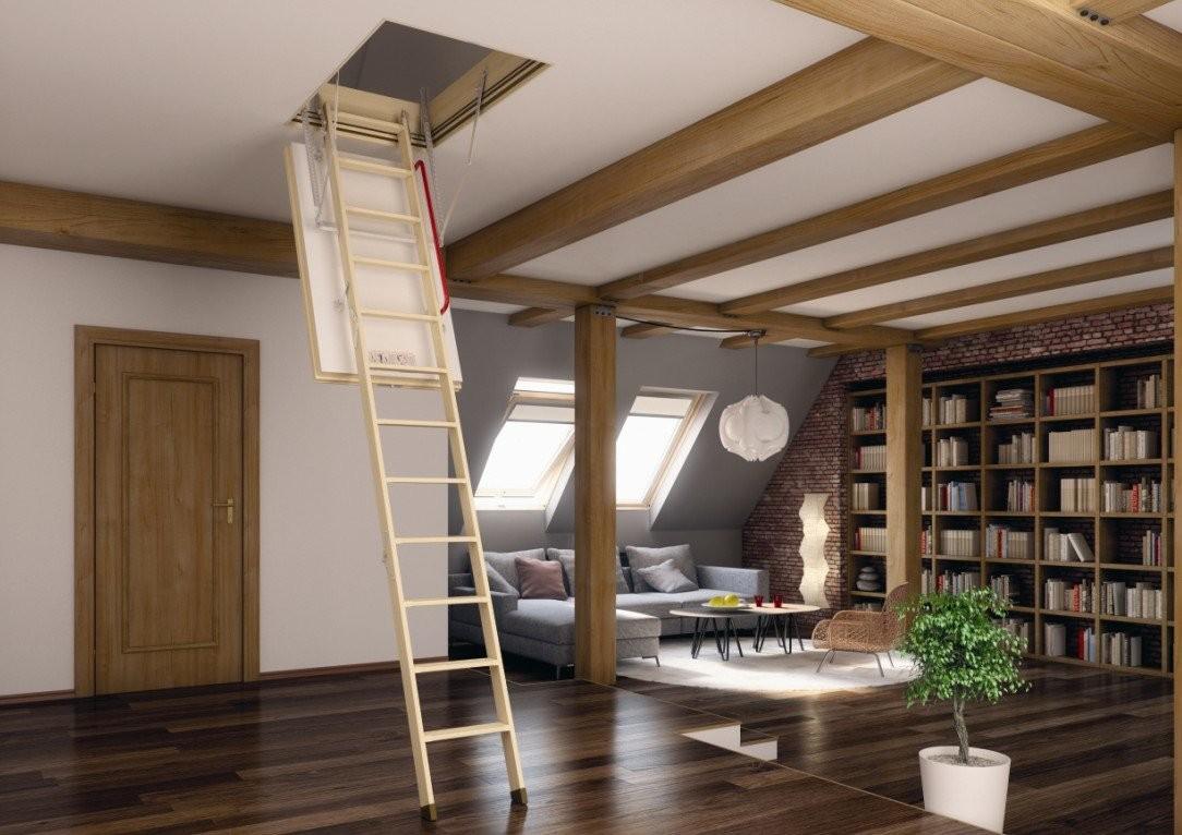 Лестницы на чердак Oman — виды и особенности конструкций