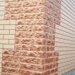 Панели Полифасад: стена - Кирпичная кладка, цоколь -Луганский камень